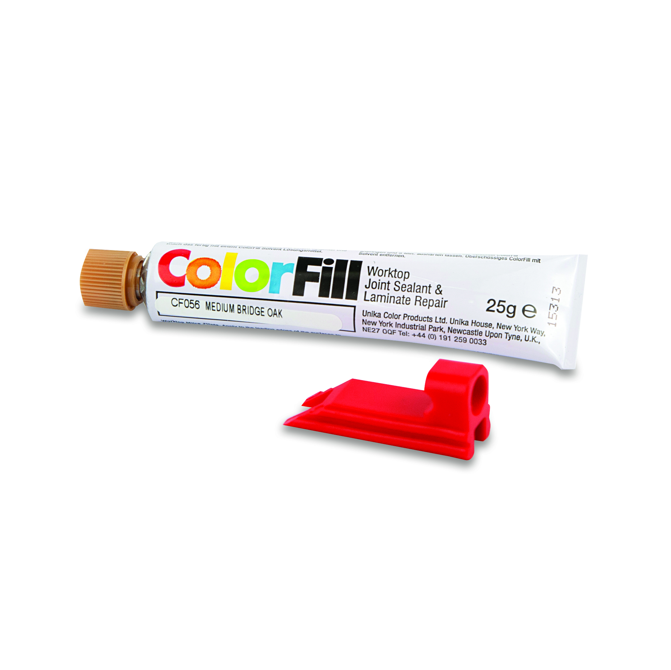 COLORFILL TUBE AND APPLICATOR